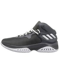 Adidas Originals - Gray Boy's Explosive Bounce Basketball Shoes for Men - Lyst