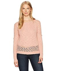 Rip Curl Pink Moonshine Pullover Sweater