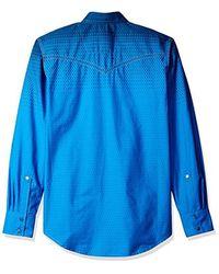 Wrangler - Blue Rock 47 Long Sleeve Shirt for Men - Lyst