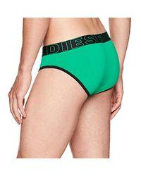 DIESEL - Green Umbr-andre Brief Microfiber Waistband for Men - Lyst