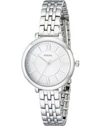 Fossil - Metallic S Jacqueline Small Stainless Steel Es3797 - Lyst