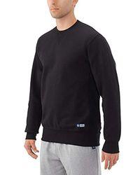 Russell Athletic - Black Pro10 Fleece Crew for Men - Lyst