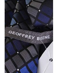Geoffrey Beene - Blue New Michigan Square Tie for Men - Lyst