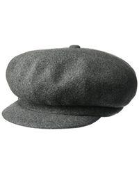 8a1b19e9c3a Lyst - Kangol Wool Spitfire Cap in Gray for Men