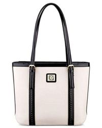 Anne Klein - Black Perfect Small Shopper Tote Bag - Lyst