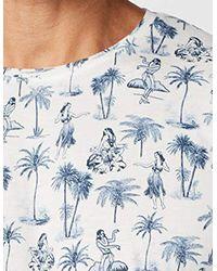 Esprit White T-shirt for men