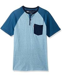 Levi's - Blue Wally Snow Jersey Short Sleeve Shirt for Men - Lyst