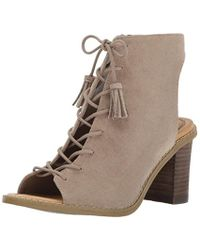 Dr. Scholls - Brown Powered Ankle Bootie - Lyst