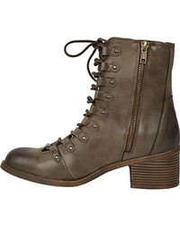 Billabong - Brown March To The Sea Boot - Lyst