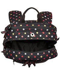Vera Bradley - Black Campus Tech Backpack, Signature Cotton - Lyst