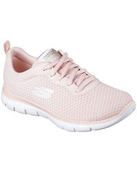 Skechers - Pink Flex Appeal2.0-newsmaker Sneaker - Lyst