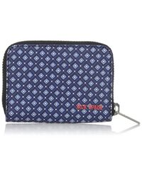 Jack Spade - Blue Mosaic Tile Barrow Leather Coin Wallet for Men - Lyst
