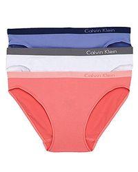CALVIN KLEIN 205W39NYC - White Pure Seamless Bikini Panty (pack Of 3) - Lyst
