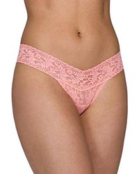 Hanky Panky - Pink Low Rise Hipster Thong - Lyst