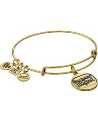 ALEX AND ANI - Metallic Charity By Design Completely Blessed Bangle Bracelet - Lyst