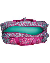 Vera Bradley - Multicolor Lighten Up Wheeled Carry On, Polyester - Lyst