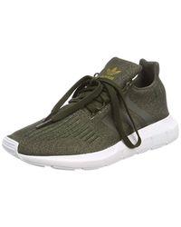 d0d20f241 Adidas Swift Run Trainers in Green - Lyst