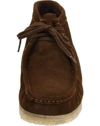 Clarks Brown Wallabee Boot for men