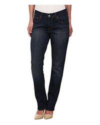Levi's Blue 414 Classic Straight Jeans