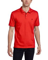 Victorinox - Red Vx Stretch Pique Polo, Bright Coral, X-large for Men - Lyst