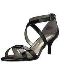 Bandolino - Black Nakayla Heeled Sandal - Lyst
