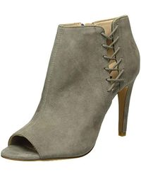 French Connection - Gray Quincy Ankle Boots - Lyst