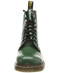 Dr. Martens - Green Unisex Adults' 1460 Smooth 59 Last Boat Shoes - Lyst
