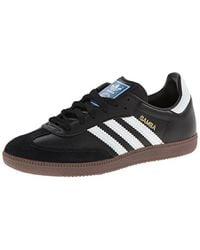 b2e7f037b0a7 Lyst - Adidas Originals Samba Soccer-inspired Sneaker in Black for Men