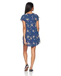 Rip Curl - Blue Malia Dress - Lyst
