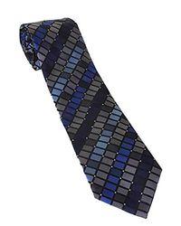 Geoffrey Beene - Blue New Michigan Square Tie for Men - Lyst