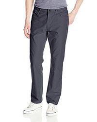 Kenneth Cole Reaction - Blue Five-pocket Back-tab Pant for Men - Lyst