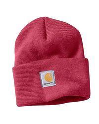 Carhartt - Red Acrylic Watch Hat - Lyst