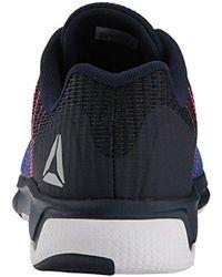 819c19f924c Lyst - Reebok Kids  Fast Flexweave Sneaker in Blue