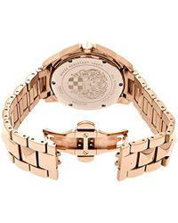 Vince Camuto - Multicolor Vc/5048svrg Round Swarovski Crystal Accented Rosegold-tone Bracelet Watch - Lyst