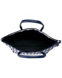Lacoste - Blue L.12.12 Concept Fantaisie Large Shopping Bag - Lyst