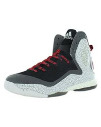 d6312974808 Lyst - Adidas Performance D Rose 5 Boost Basketball Shoe in Gray for Men