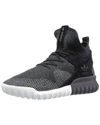 09016eedad45 Lyst - adidas Originals Tubular X Pk Fashion Sneaker in Gray for Men
