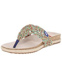 Rocket Dog - Multicolor Fairytale Macrame Rope Flip Flop - Lyst