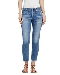 Citizens of Humanity | Blue Elsa Girlfriend Jean In Pacifica | Lyst