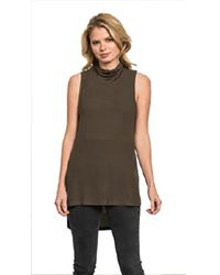 Feel The Piece | Green By Terre Jacobs Flynn Top In Olive | Lyst