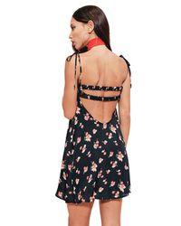 For Love & Lemons - Black Cherry Tank Dress - Lyst