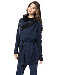Young Fabulous & Broke   Blue Lida Jacket In Dark Navy   Lyst