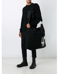 Rick Owens   Black Large Messenger Bag for Men   Lyst