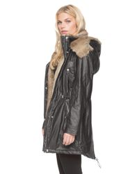 Marc New York | Black Lauren Anorak Coat | Lyst