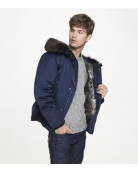 Andrew Marc - Blue Alpine for Men - Lyst