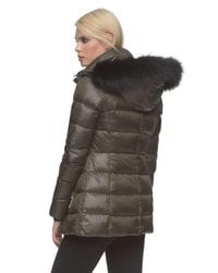 Andrew Marc - Green Britt Water-Resistant Quilted Jacket  - Lyst