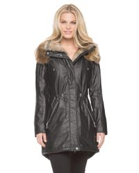 Marc New York - Black Lauren Anorak Coat - Lyst