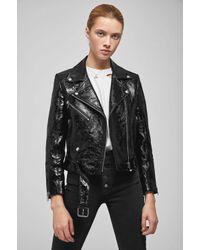 Anine Bing - Black Jett Leather Jacket - Lyst