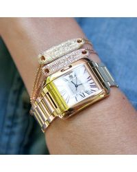 Anne Sisteron - Multicolor 14kt White Gold Diamond Secret Love Bracelet - Lyst