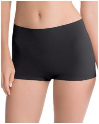 Ann Taylor - Black Spanx Everyday Shaping Boyshorts - Lyst